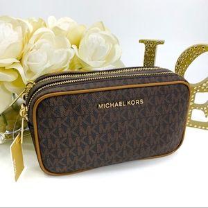 NWT Michael Kors Connie Camera Bag Crossbody